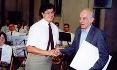 Passaggio di consegne dal presidente uscente Rota Antonio al nuovo Rota Ornella